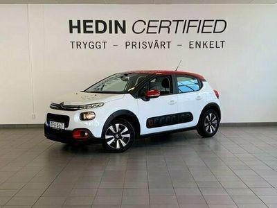 begagnad Citroën C3 PureTech 110hk EAT6 FEEL *V - Hjul*