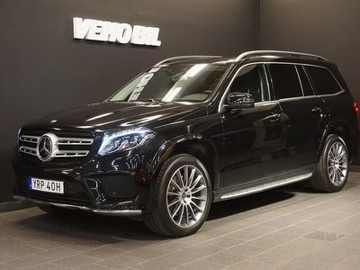 begagnad Mercedes GLS350 4MATIC AMG Värmare Distronic Panorama Navi Drag 360-Kam