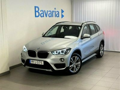 begagnad BMW X1 20d xDrive Sport Line Aut Dragkrok Navi Sportstolar