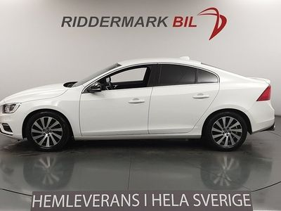 begagnad Volvo S60 D4 190 hk Eu6 R-Design Värmare Skinn