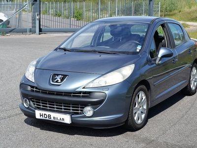 begagnad Peugeot 207 1.6 VTi Sport Nybesiktigad 2008, Halvkombi 13 500 kr