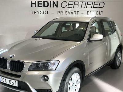 begagnad BMW X3 X3 XDRIVE 2.0D AUTOMAT 184HK