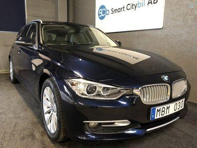 begagnad BMW 320 d xDrive Modern Line Stronic 184hk 12 mån GARANTI