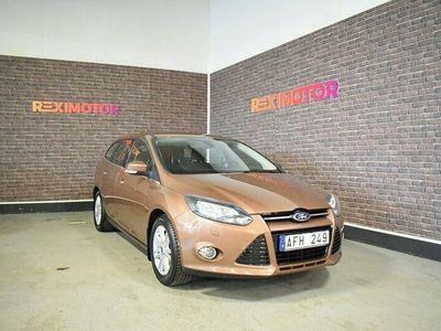 begagnad Ford Focus Kombi EcoBoost 100hk Besiktad