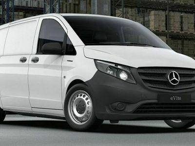 begagnad Mercedes e-Vito 111 skåp lång 0 kr kontant, försäkring, service, garanterat restvärde // UNIFLEET OP-LEASING //
