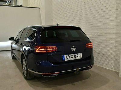begagnad VW Passat Variant GTE Navi Skinn B-värm Cockpit Drag 218hk