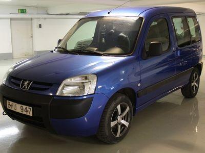 begagnad Peugeot Partner Skåp med glasrutor runt om 1,4 60 hk
