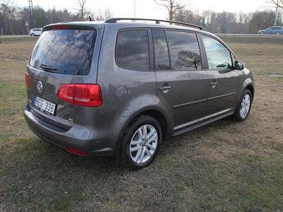 begagnad VW Touran TDI 105 MASTERS