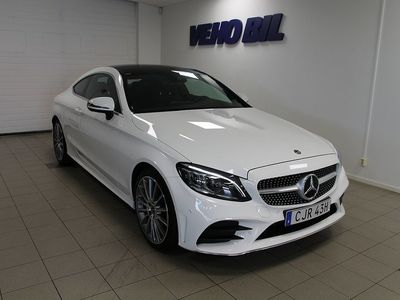begagnad Mercedes C220 d 4-Matic Coupe AMG Panorama