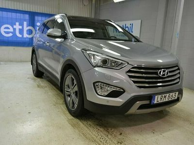 begagnad Hyundai Grand Santa Fe 2.2CRDi 4WD 6-Sits Pano Skinn Drag 197hk
