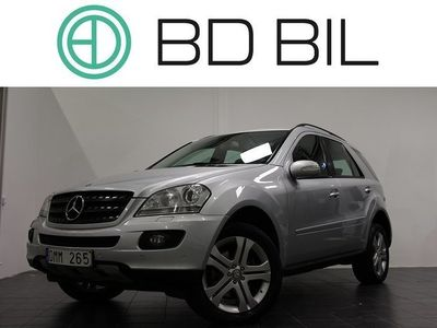 begagnad Mercedes ML320 CDI 4MATIC NAVI DRAG