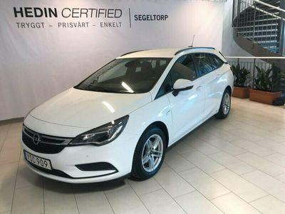 begagnad Opel Astra 4 T TOURER ENJOY PLUS S V-HJUL 2018, Kombi Pris 129 900 kr