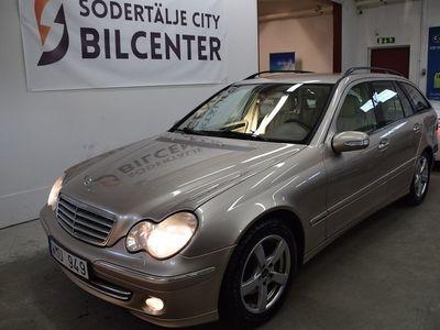 begagnad Mercedes 200 C-KlassT Kompressor 163HK/ SKINN/SVENSKSÅLD