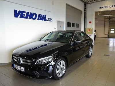 begagnad Mercedes C220 d Avantgarde, Navigation, -19