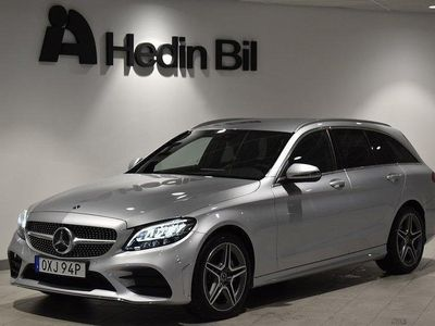 begagnad Mercedes C220 D // Backkamera // Navigation // AMG-Line