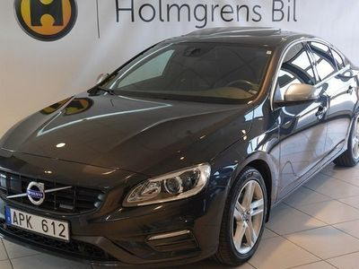 begagnad Volvo S60 D2 R-DESIGN TAKLUCKA BE PRO DRIVER SUPPORT