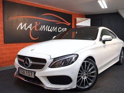brugt Mercedes 300 C-KlassCoupé AMG Sport 245hk Panorama