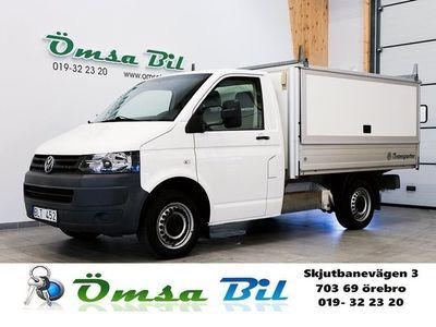 begagnad VW Transporter Pickup 2.0 TDI 3-sits KÅPA/KAPELL 140 hk
