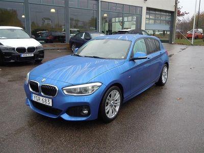 begagnad BMW 118 i 5d m-sport / led / 17 -17