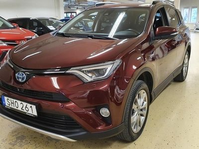 begagnad Toyota RAV4 Hybrid AWD Executive