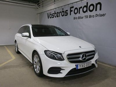 begagnad Mercedes E220 4-M AMG Aut D-Värm Se Utr