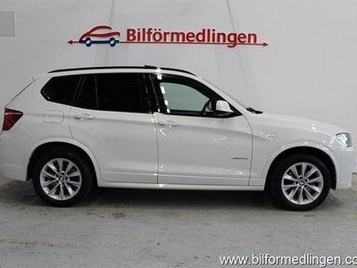 begagnad BMW X3 xDrive 35d 313Hk M-Sport Navi Panorama -12