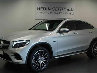 """begagnad Mercedes GLC350 - BenzE 4MATIC COUPÉ / / AMG Paket / / 20"""" Alufälgar mm"""