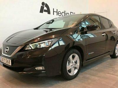 begagnad Nissan Leaf 40 kWh TEKNA DEMO 2021, Halvkombi Pris 299 900 kr