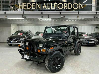 begagnad Jeep Wrangler 2.5 4WD 125hk 12800MIL Hardtop/Soft Top