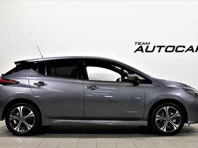 begagnad Nissan Leaf Acenta 40 kWh inkl service & v-hjul