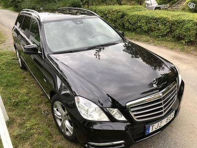 begagnad Mercedes E220 CDI Avantgarde, lågmil, värmare -11