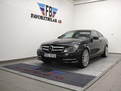begagnad Mercedes 180 C-KlassCoupé BlueEFFICIENCY 7G-Tronic Plus 156hk