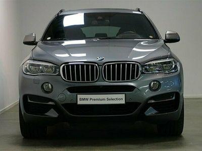 begagnad BMW X6 M50d Navi Drag Komfortstol Värmare Hud B&O
