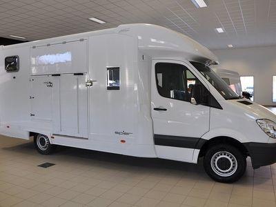 begagnad Mercedes Sprinter Benz 316 Cdi Aerobox Hästlastbil 2 hästar 2013, Transportbil 523 750 kr