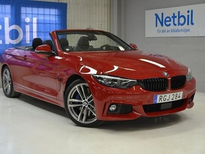 begagnad BMW 440 i Cabriolet Cab M-Sport M Performance Kit Nyskick