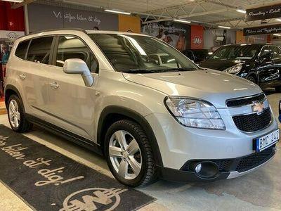 begagnad Chevrolet Orlando 2.0 TD VCDi 7-sits Navigation 2011, Minibuss Pris 74 900 kr