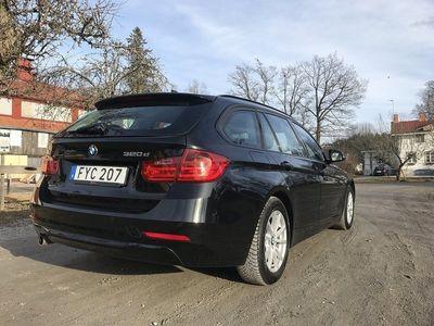 begagnad BMW 320 D Touring Sportline HarmanKardon Vint -14