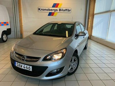 begagnad Opel Astra 1.4 T Active Plus Manuell 2014, Halvkombi Pris 99 500 kr