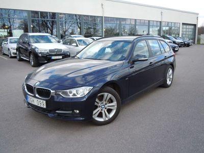 begagnad BMW 320 d Touring Sport Line Automat, Navigation
