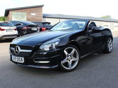 begagnad Mercedes 350 SLK BenzAMG Airscarf PTS Harman Kardon 2012, Cab 339 900 kr