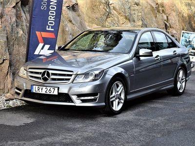 begagnad Mercedes C220 CDI BE AMG Sport 170hk Panorama