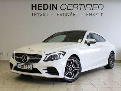 begagnad Mercedes 220 - Benz C - Klassd Coupé AMG Premium plus, Värmare Panorama