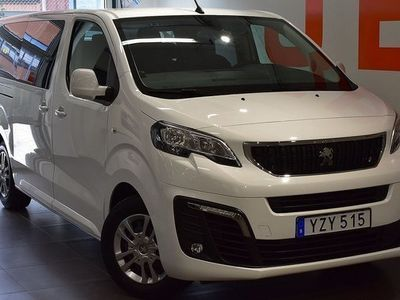 begagnad Peugeot Traveller 1.6 BlueHDi 9-Sits - Touchscreen 2018, Transportbil 238 100 kr