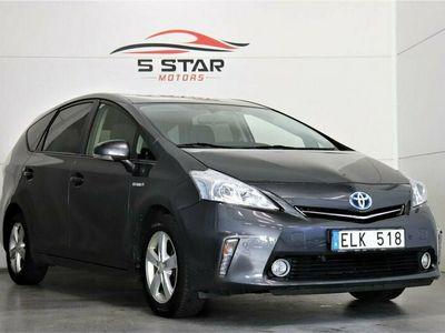 begagnad Toyota Prius+ + Hybrid 1.8 VVT-i + 3JM CVT 7-sits *Navi*