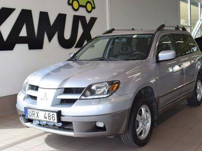 begagnad Mitsubishi Outlander 4WD,Skinn,Drag,Auto