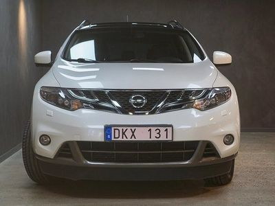 begagnad Nissan Murano 2.5 dCi 4x4 Aut Navi Drag Backkamera V-Hjul