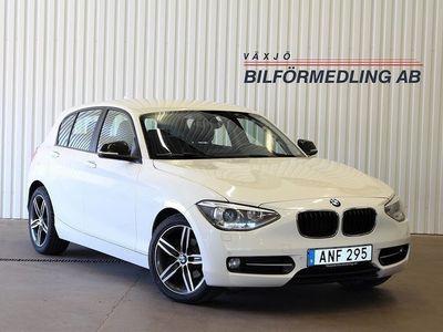 begagnad BMW 118 d Steptronic Sport line 143hk
