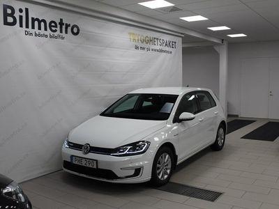 begagnad VW e-Golf E- 100 KW 30MIL RÄCKVIDD