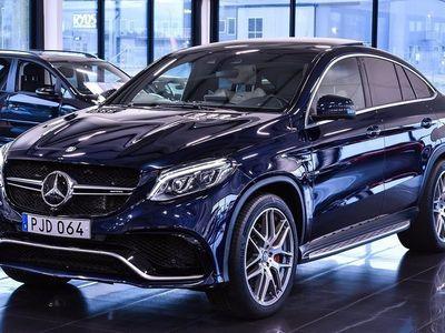 begagnad Mercedes GLE63 AMG AMGS CUOPE/SV-SÅLD/660HK
