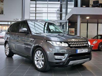 begagnad Land Rover Range Rover Sport TDV6 7-Sits Euro6 Sv-såld